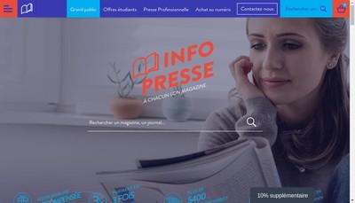 Site internet de Abo Fr Aboclub Fr Aboatoo Fr Info-Presse Fr Infopresse Fr Info-Presse Pro Info-Presse Educ Ation