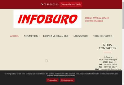 Site internet de Infoburo
