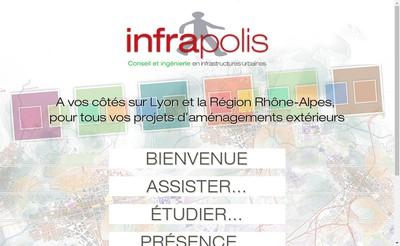 Site internet de Infrapolis