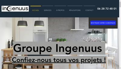 Site internet de Ingenuus