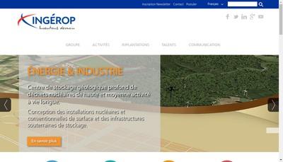 Site internet de Ingerop International