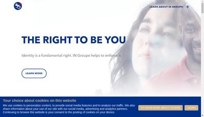 Site internet de In Groupe