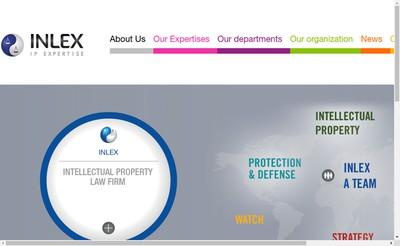 Site internet de Inlex Ip Expertise