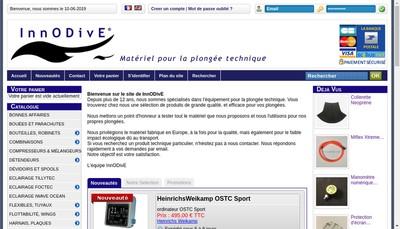 Site internet de Innodive