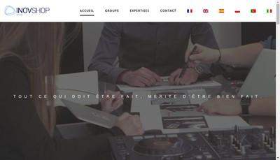 Site internet de Inovshop Group
