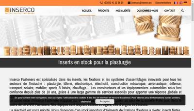 Site internet de Inserco