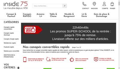 Site internet de Mildecor