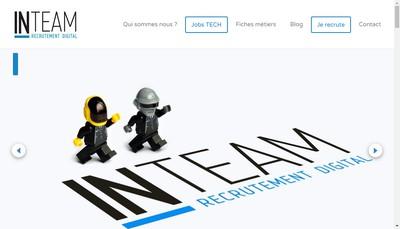 Site internet de In -Team