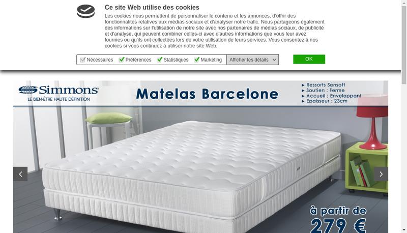Capture d'écran du site de Linked And Smart Group