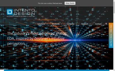 Site internet de Intento Design