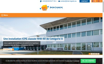 Site internet de Inter-Logistic (Europe)