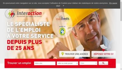 Site internet de Interaction Haute Normandie