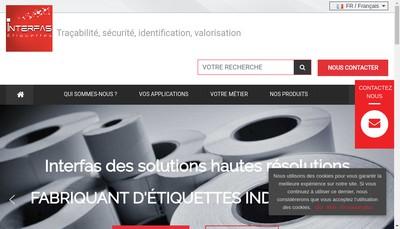 Site internet de Interfas