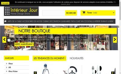 Site internet de Interieur Jour