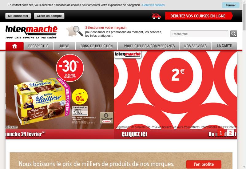 Capture d'écran du site de Lauda