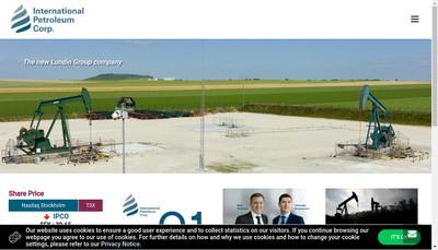 Site internet de Ipc Petroleum France