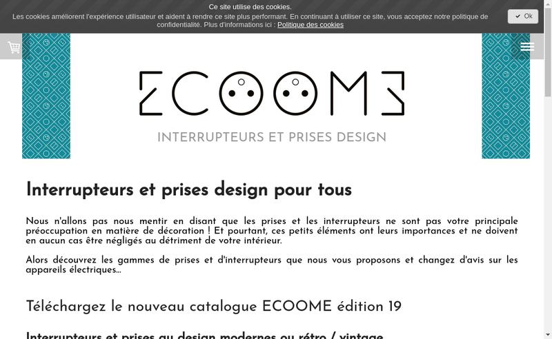 Capture d'écran du site de Vincent Mielcarek