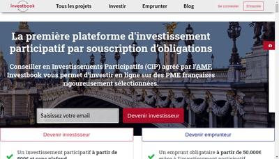 Site internet de Investbook