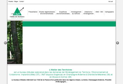 Capture d'écran du site de Ip Trust Innovation