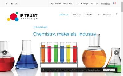 Site internet de Ip Trust Innovation