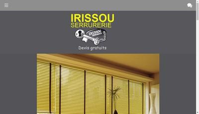 Site internet de Irissou Serrurerie