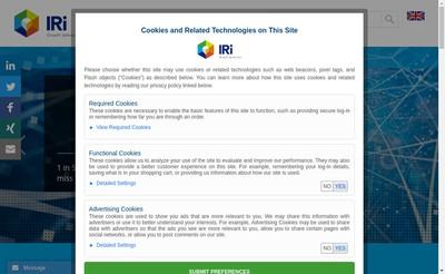 Site internet de Information Resources