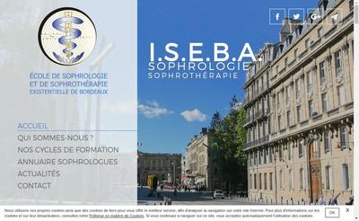 Site internet de Ecole de Sophrologie et de Sophrotherapie Existentielle