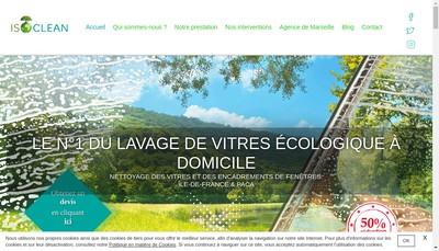 Site internet de Isoclean