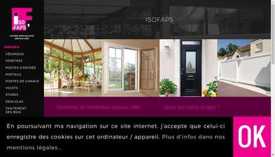 Site internet de Isofaps'