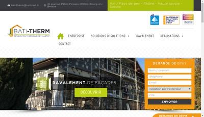 Site internet de Bati-Therm