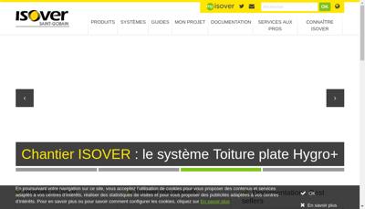 Capture d'écran du site de La Terrasse
