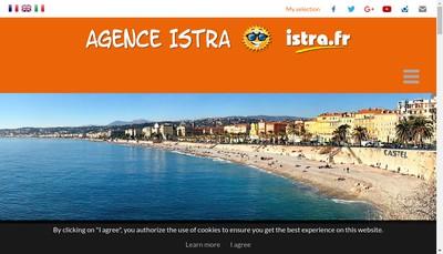 Site internet de Agence Istra