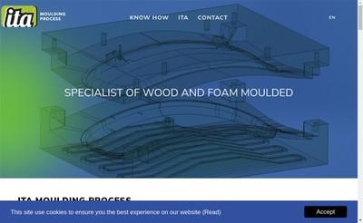 Site internet de Ita Moulding Process