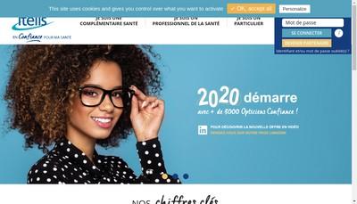 Site internet de Itelis