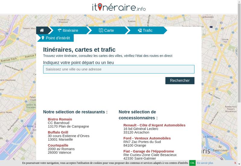 Capture d'écran du site de Links Lab