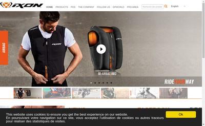 Site internet de Ixon