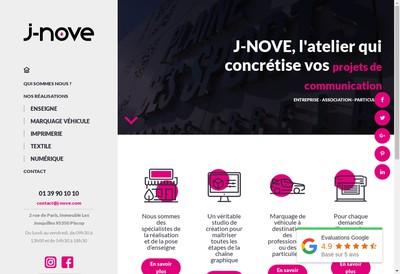 Site internet de J Nove Com