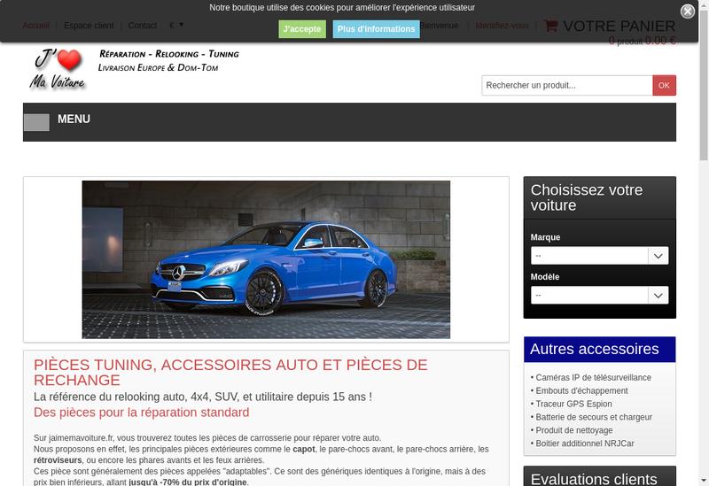 Capture d'écran du site de Z Discount