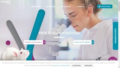 Site internet de Janvier Labs