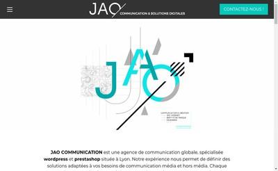Site internet de Jao Communication