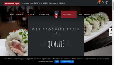 Site internet de Le Japyonnais