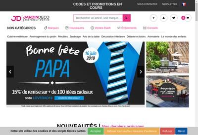 Site internet de Jardin Deco