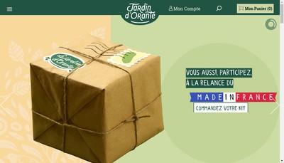 Site internet de Jardin d'Orante