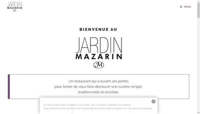 Site internet de Jardin Mazarin