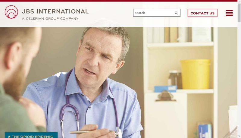 Capture d'écran du site de Jb International