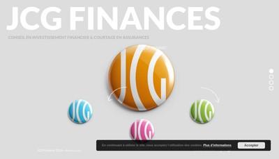 Site internet de Jcg Finances