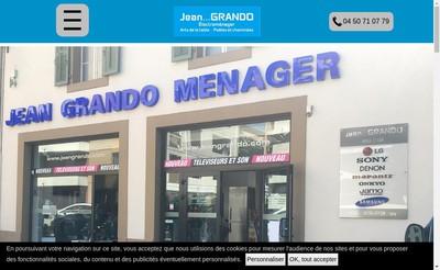 Site internet de Sarl GP Menager