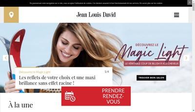 Site internet de Jean Louis David