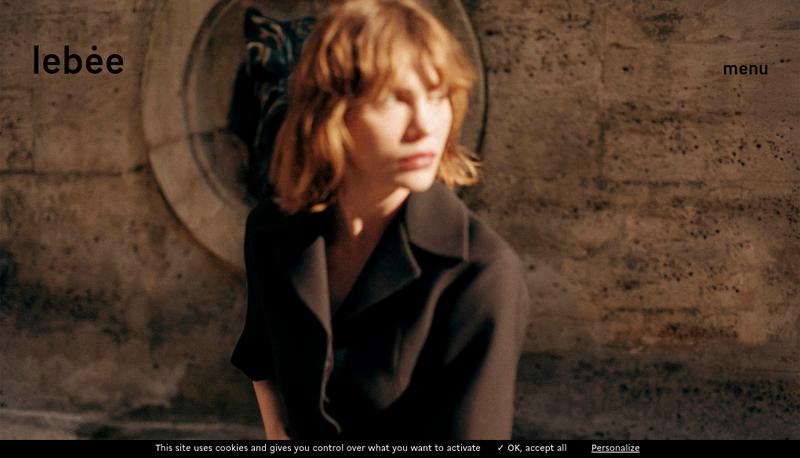 Capture d'écran du site de Jean-Philippe Lebee