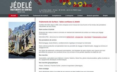 Site internet de Jedele
